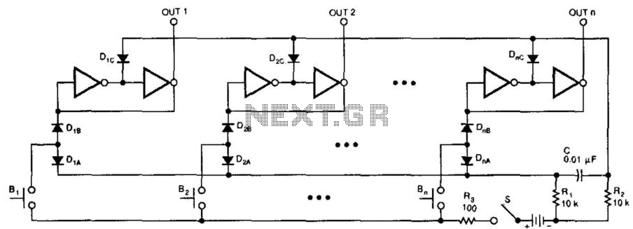 Switching Circuit - schematic