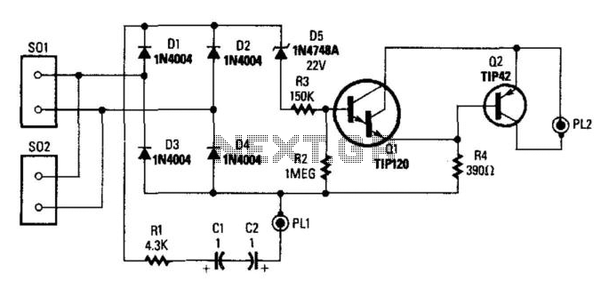 Telemonitor For Recording Phone Calls - schematic