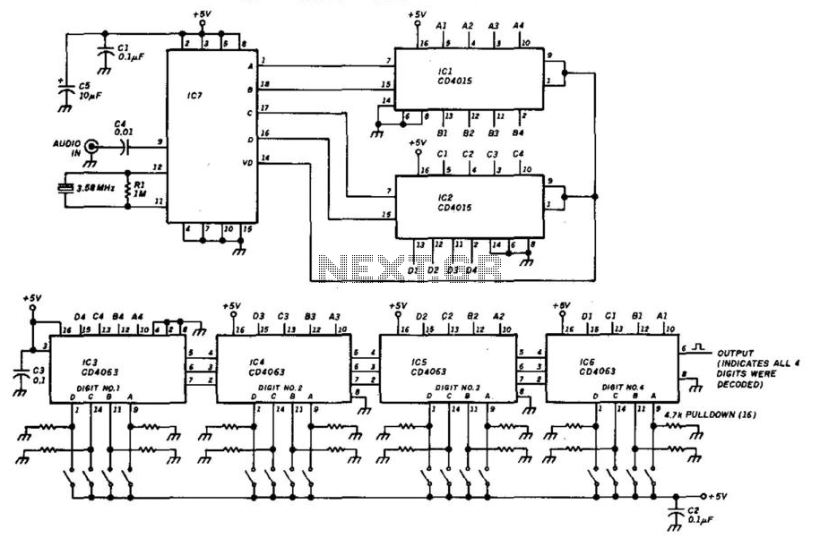 Low-Power Touch-Tone Decoder