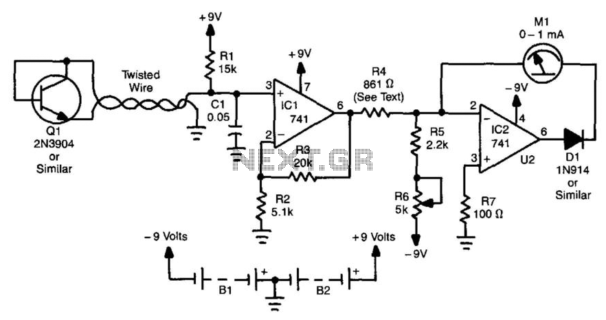 trace voltage current curves on your pc - testers instruments circuits