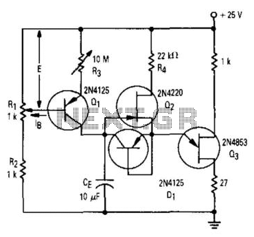 rc timer circuit voltage regulator wiring diagram