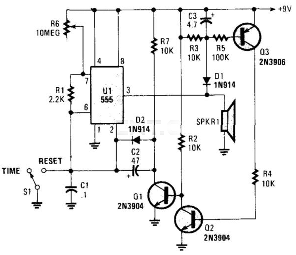 timer circuit   meter counter circuits    next gr