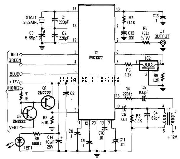 tv video circuit   video circuits    next gr