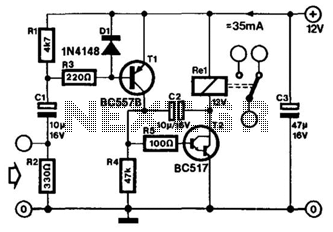 Simple Audio-Frequency Vco - schematic