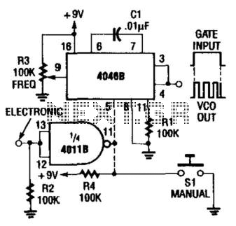 Gated Wide-Range Vco