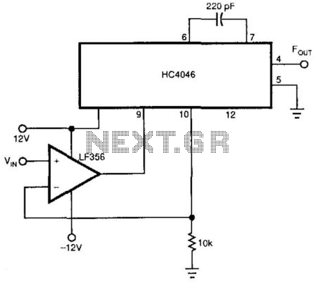 Linear Vco - schematic