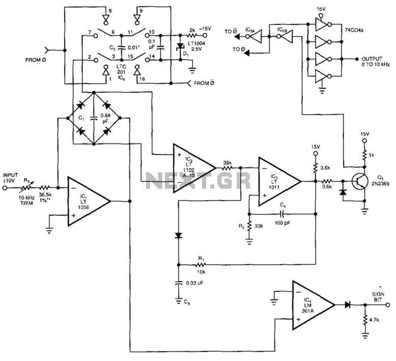 Voltage-To-Frequency Converter Ii - schematic
