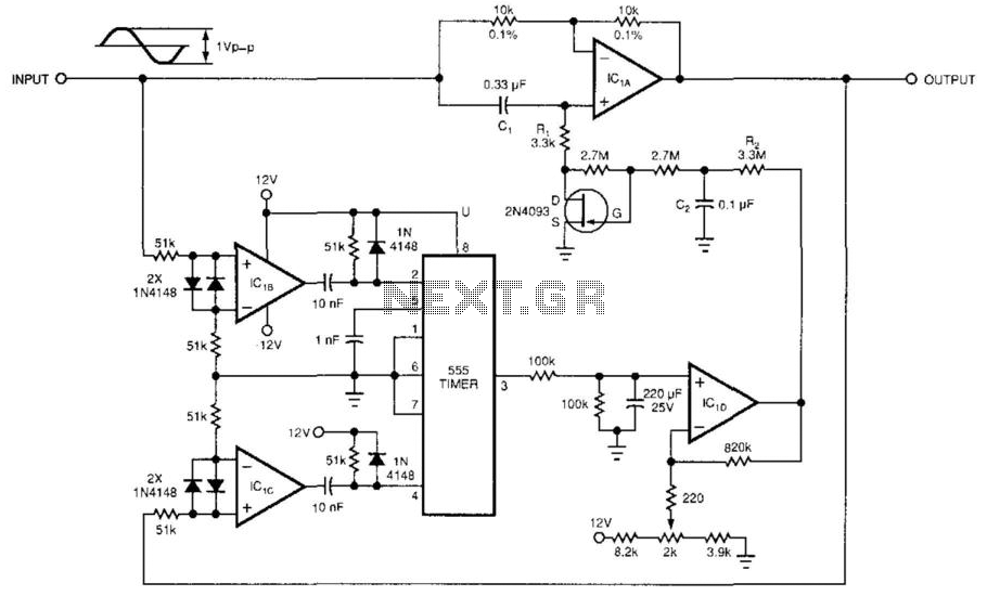 Phase Shifter - schematic
