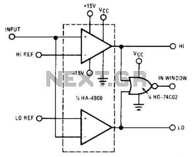 Window Detector - schematic