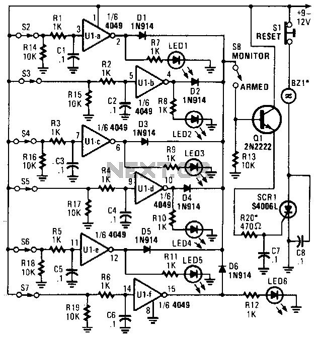 u0026gt  security  u0026gt  alarms  u0026gt  closed loop tracer l13470