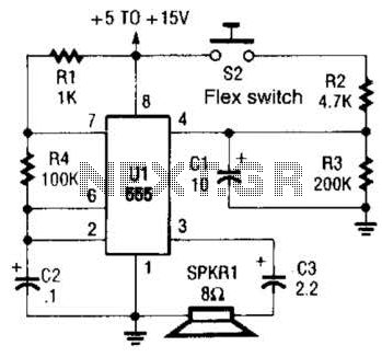 Quick view of Alarm Sounder For Flex Switch Circuit