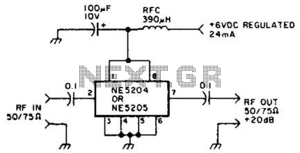 Audio To Uhf Preamp Circuit