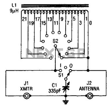 Low-Power Antenna Tuner Circuit
