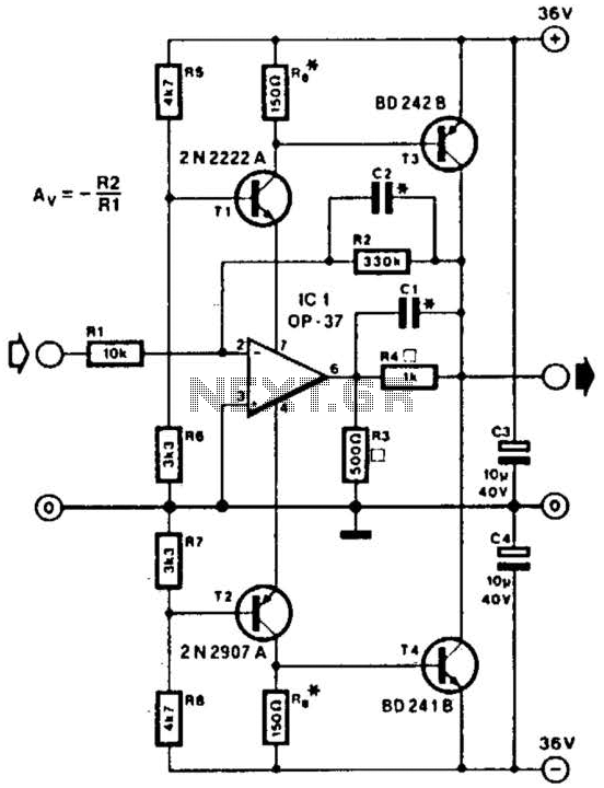 audio amplifier circuit page 2   audio circuits    next gr