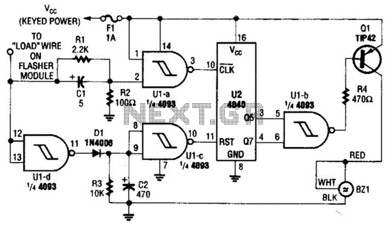Auto Turn-Signal Reminder Circuit