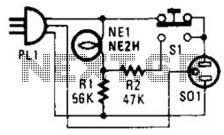 Engine Block Heater Minder Circuit - schematic