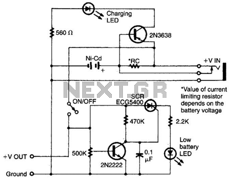 Intelligent Battery-Charging Circuit Circuit