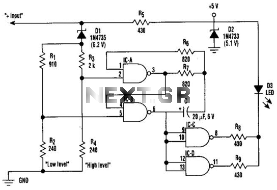 Battery Test Circuit Circuit - schematic
