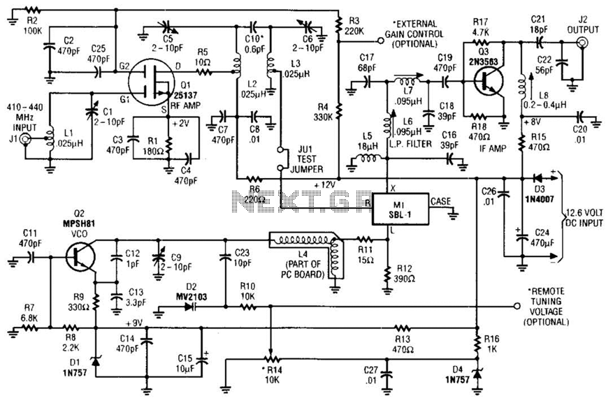 Atv Downconverter Circuit