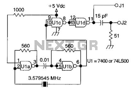 Wide-Range Crystal Oscillator Circuit