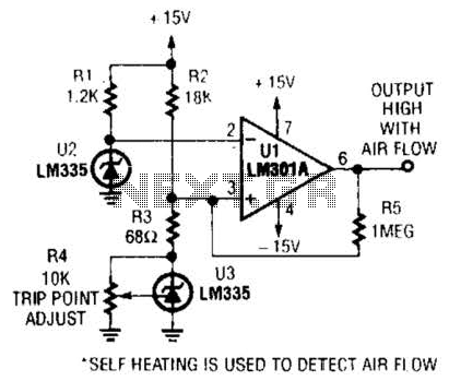 Air-Flow Detector Circuit