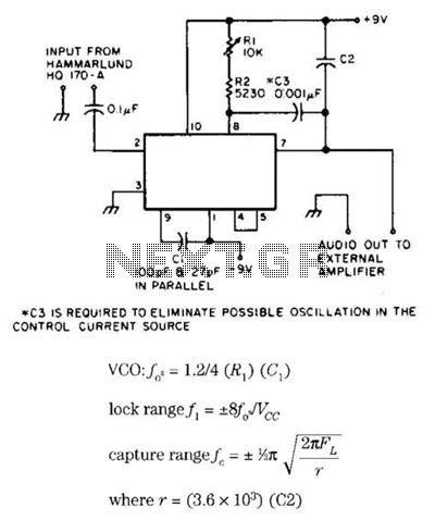 455Khz Fm Demodulator Circuit - schematic