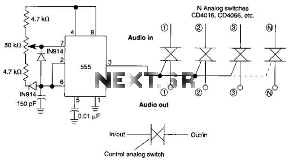 Digital Multiple-Gang Potentiometer Control Circuit