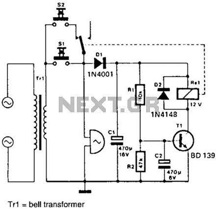 Wiring Diagram For Doorbell With 2 Chimes on fire alarm transformer