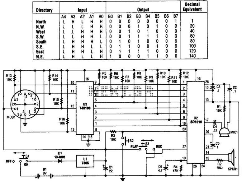 direction finder circuit automation circuits next gr