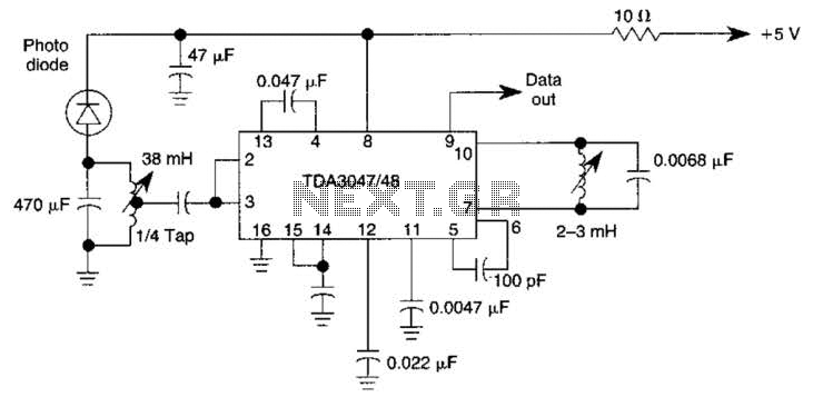 Infrared Receiver Circuit - schematic