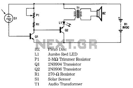 Infrared Remote-Control Tester Circuit - schematic