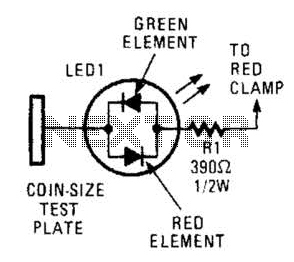 Polarity Indicator Circuit - schematic