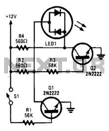 Bi-Color Indicator Circuit - schematic