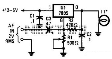 Visible-Light Audio Transmitter Circuit