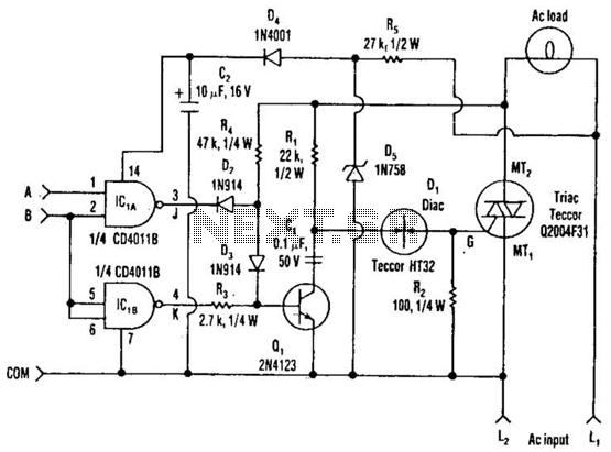 triac circuit   other circuits    next gr