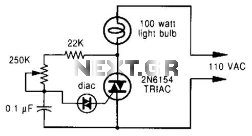 Phase-Controlled Dimmer Circuit