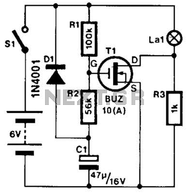 Halogen Lamp Protector Circuit