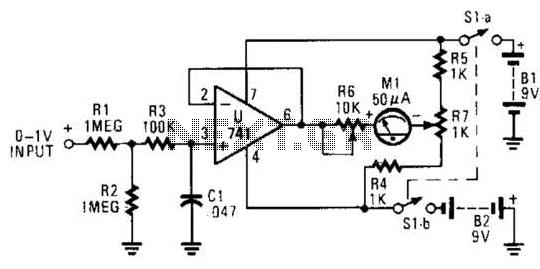 Transistor Checker Circuit - schematic