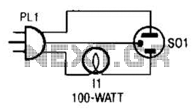 Audible Logic Tester Circuit - schematic
