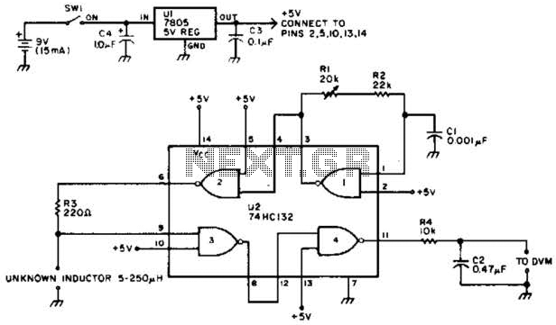 Voltage Monitor Circuit - schematic