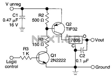 7805 Turn-On Circuit Circuit