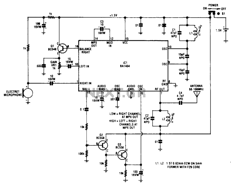 Room Monitor Circuit - schematic