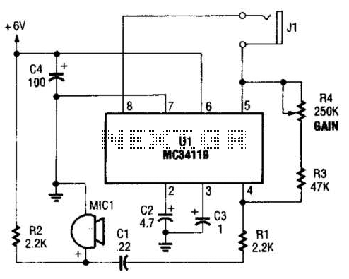 Bird Feeder Monitor Circuit - schematic