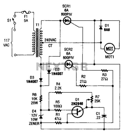 Automations Motor Control Circuits Speed Control