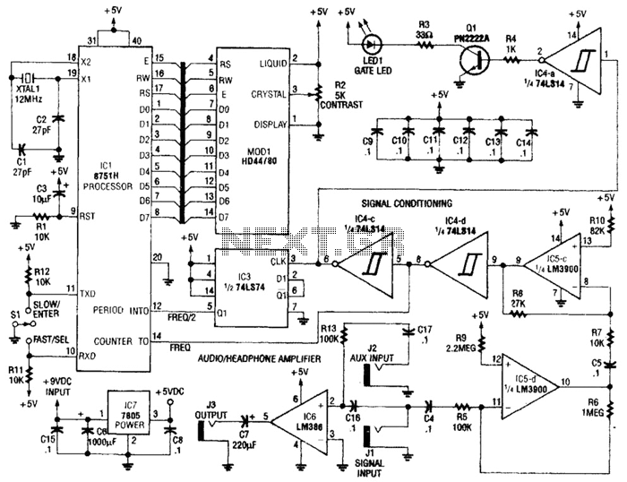 Audio Oscillator Audio Circuits Next Gr