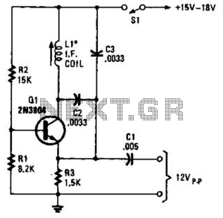 Simple Rf Test Oscillator Circuit