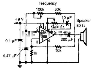 Af Power Oscillator Circuit