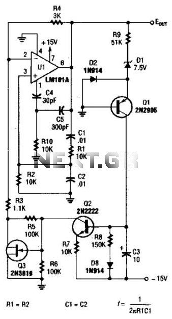wein bridge oscillator circuit   oscillator circuits    next gr
