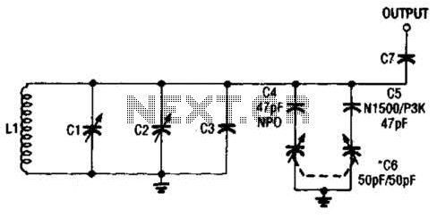 Adjustable Vfo Temperature Compensator Circuit - schematic