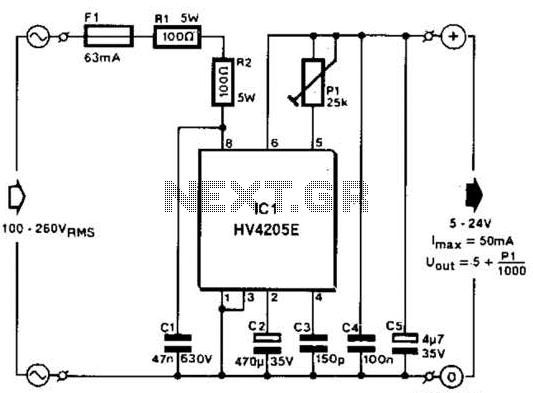 u0026gt  power supplies  u0026gt  ac dc dc dc  u0026gt  multimeter ac dc converter circuit diagram automatically l59357
